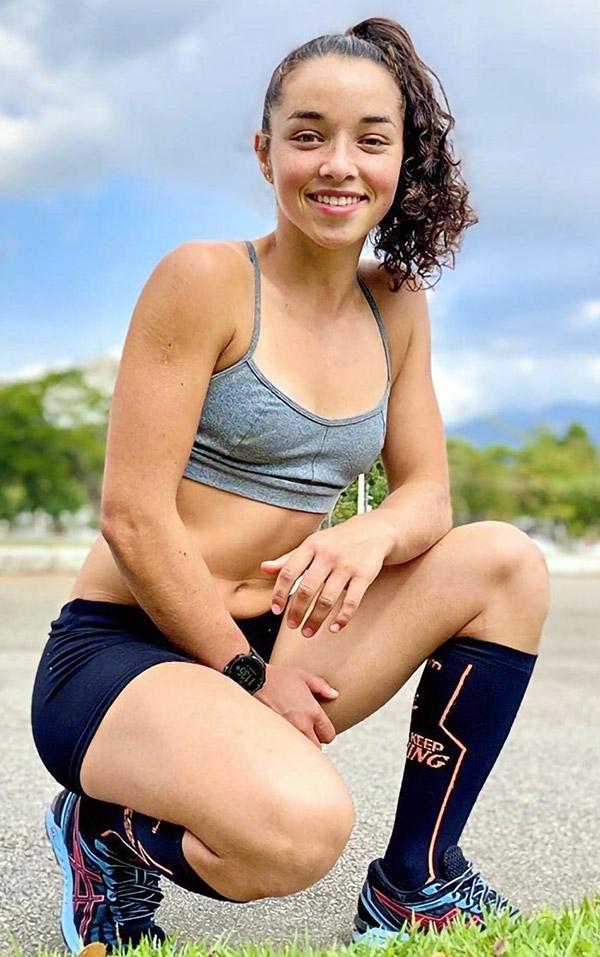 Evelin Fernandes - Atleta